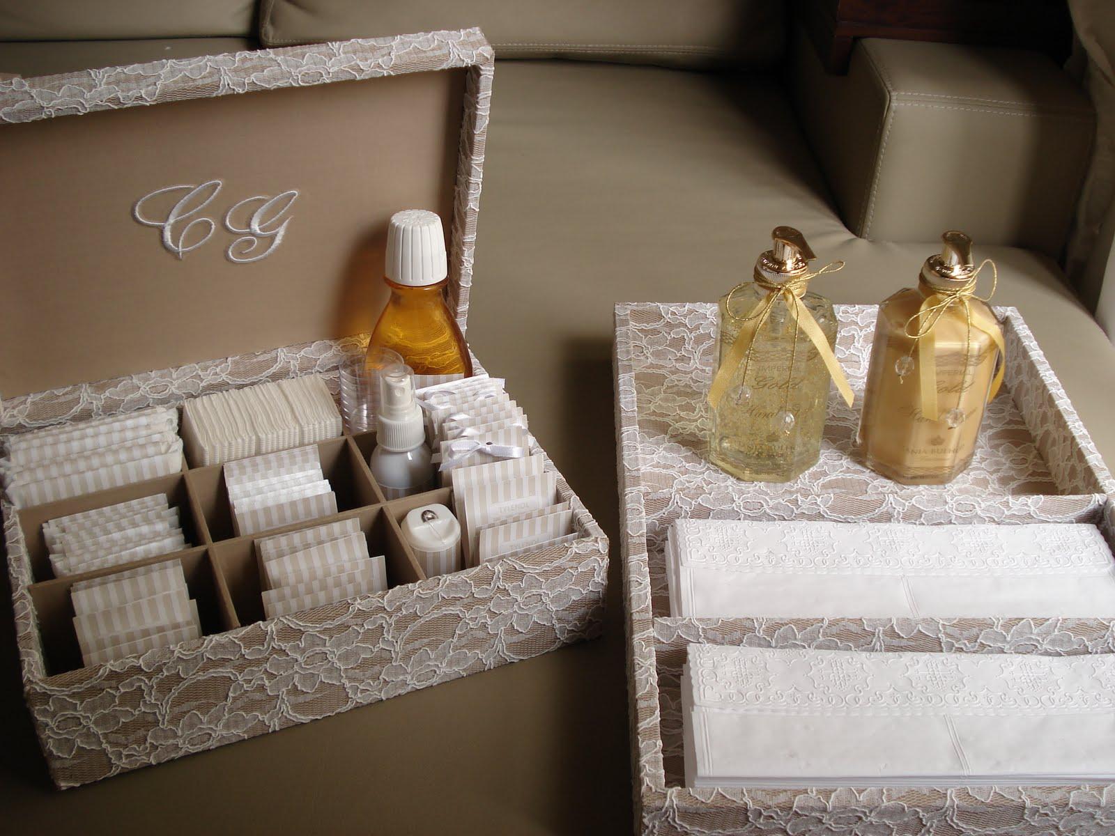Personalizadas By Carla Colaferri: Kit Banheiro de Renda Francesa #A0752B 1600x1200 Acessorios Banheiro Casamento