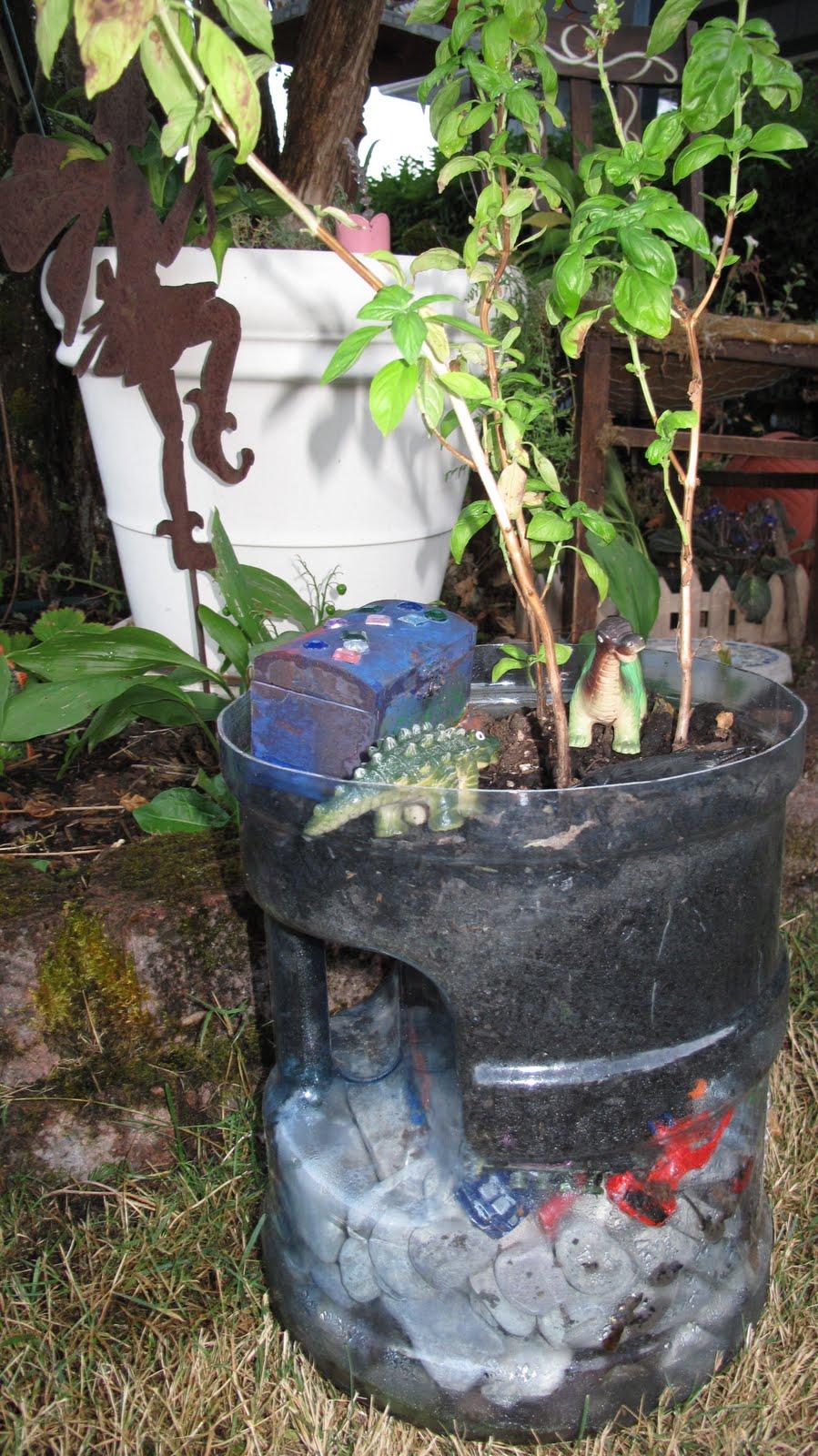 ReCrochetions Gs Terrarium Fairy Garden Update