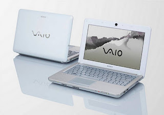 Sony Vaio Laptop Wallpaper White