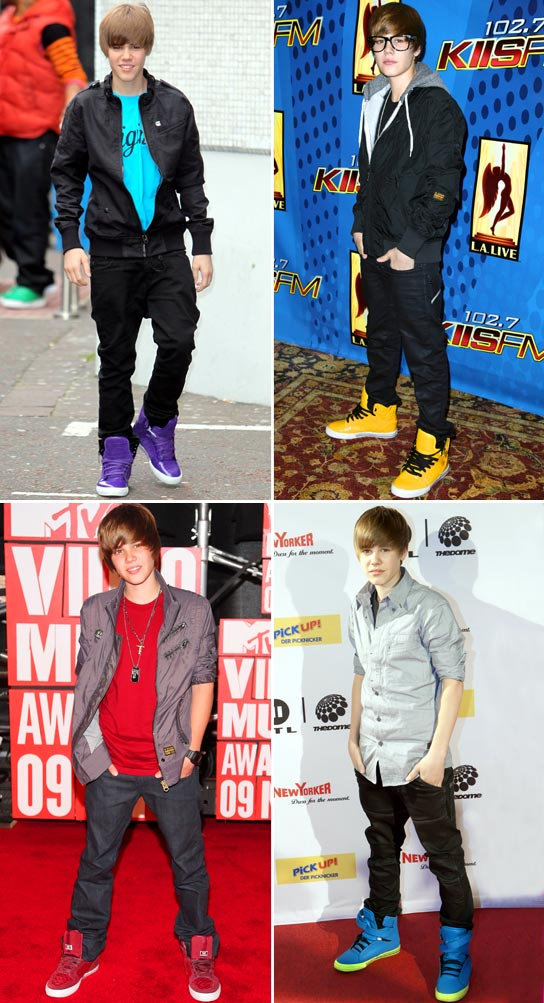 justin bieber shoes brand
