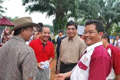 Bersama Ketua Setiausaha Negara dan Mantan KSN