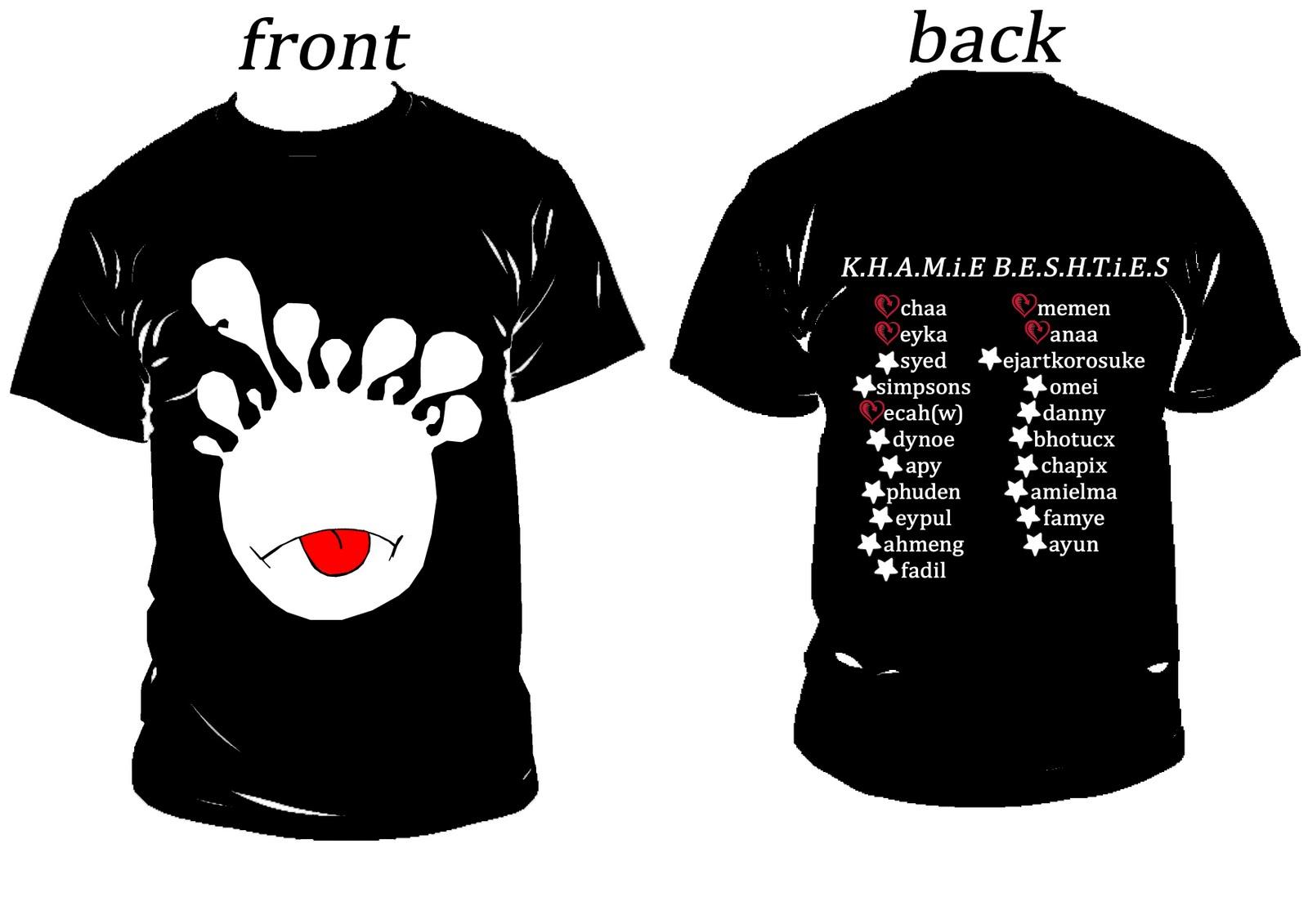 Contoh desain t shirt kelas - Design T Shirt Untuk Kelas Pelajar Sekolah Sri Skudai Telah Meminta Kami Mereka Dan Membuat