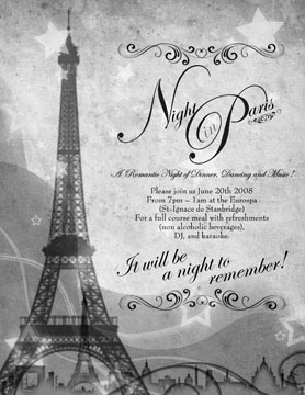 Montreal glamour parties blog