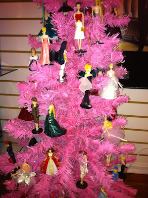 Anne Fannie's Green Acres: Pink Barbie Christmas Tree