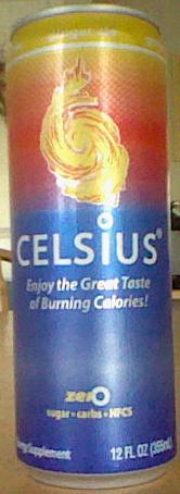 celsius ginger ale