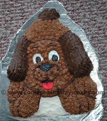 Dog Shaped Cake Images : Happy Birthday Watashi!