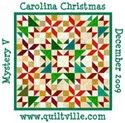 Carolina Christmas Mystery Quilt