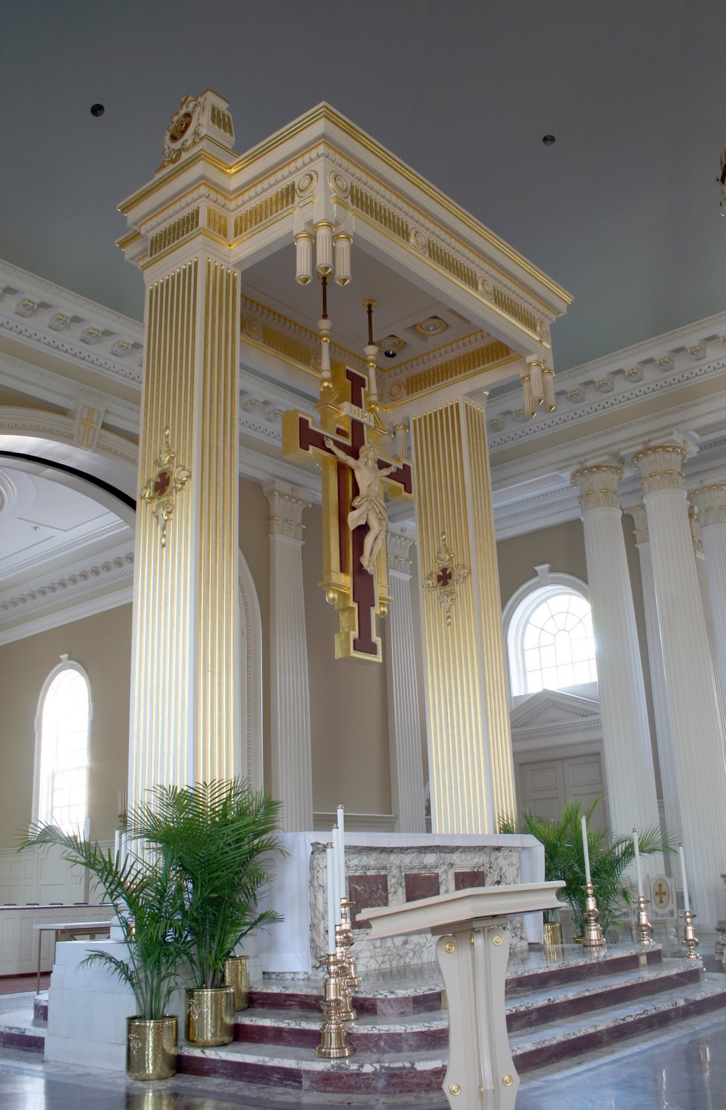 New Liturgical Movement On The Size Of Altars - Home altar designs