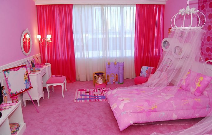 mundo cor de rosa quartos para patricinhas