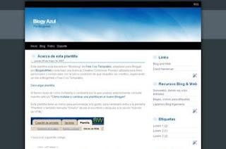 Blogger Templates 2 column