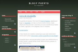 Blogger Templates 3 column