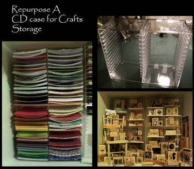 Repurpose a CD case for Crafts Storage & wienerhoneymooners: Repurpose a CD case for Crafts Storage