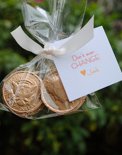 coin valentine, valentines for boys, money themed valentine, don't ever change valentine, money party favor