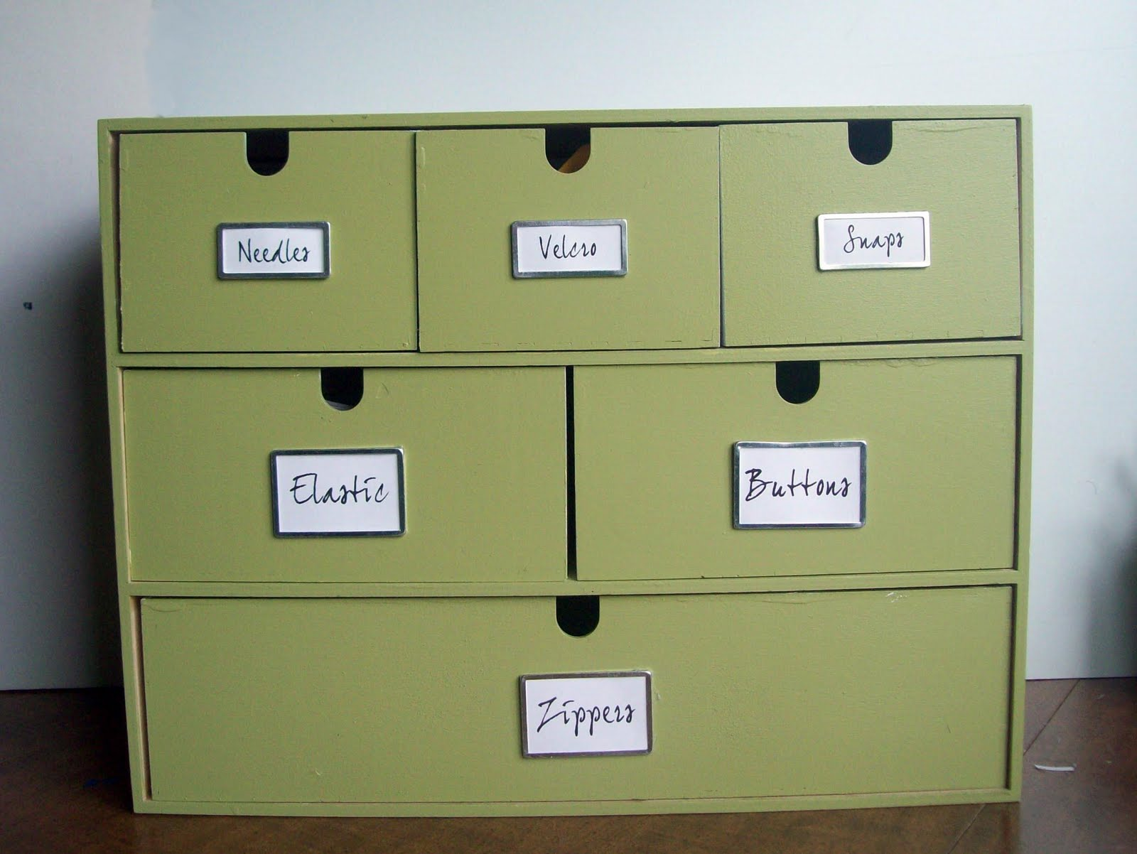 Running With Scissors Sewing Storage Box