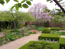 English Walled Garden at Chicago Botanical