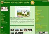 """Kampania""""STOP DLA GMO W POLSCE"""""""