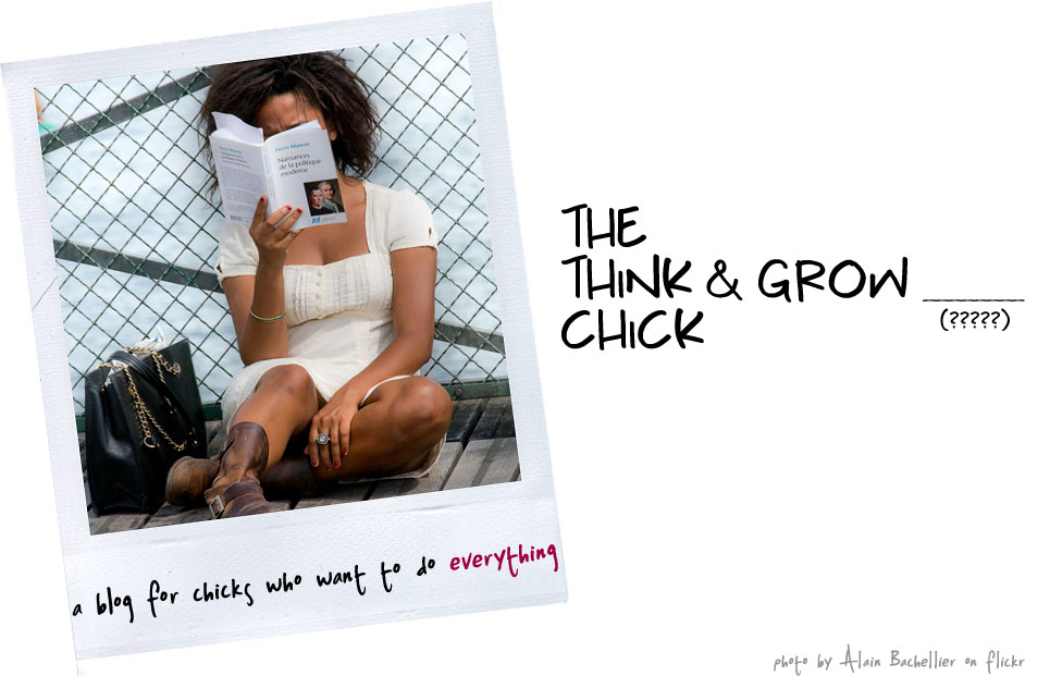 The Think and Grow Chick
