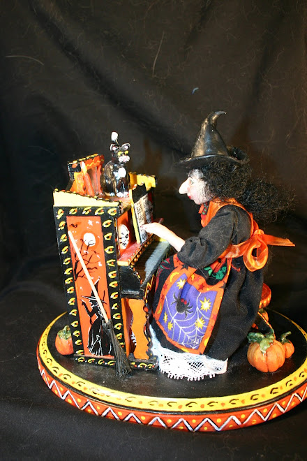 Music box witch