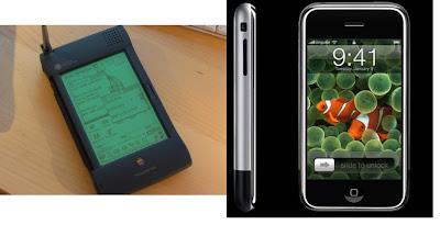 Apple Newton vs Apple iPhone