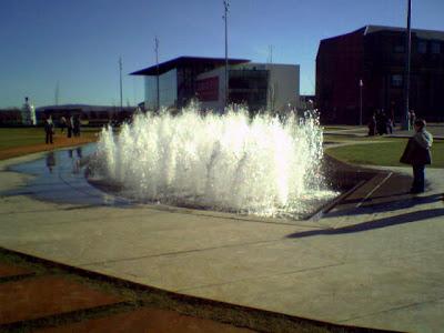 mima and fountain