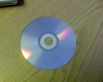 An old fashioned CD