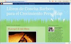 Blog Libros de Concha Barbero para el Crecimiento Personal: