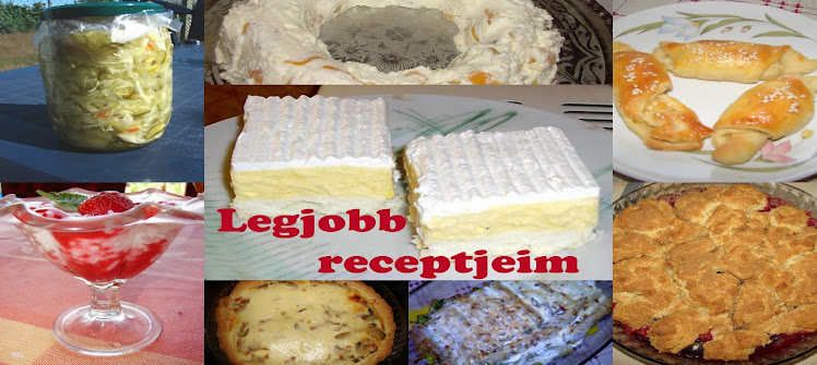LEGJOBB RECEPTJEIM