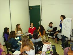 1º treinamento estagiárias do Projeto 2008