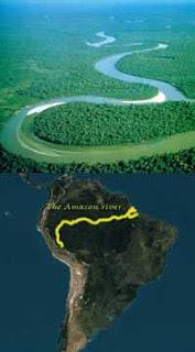 visitando la selva Peruana