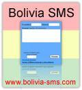 Envía SMS gratis a toda BOLIVIA