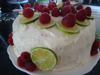Give Me Something Good to Eat: Paula Deen Raspberry Limeade Cake