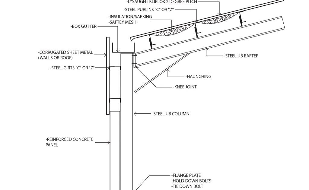 Thomas Archer Construction Week 02 Quot Portal Frame Knee