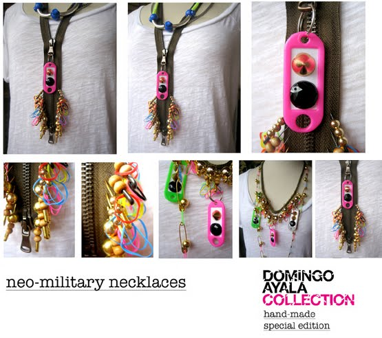 NEO MILITARY NECKLACES Domingo Ayala Handmade