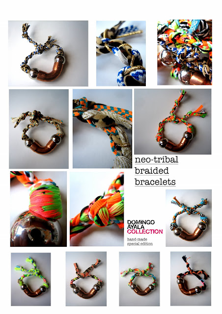 NEO TRIBAL BRAIDED Domingo Ayala Handmade