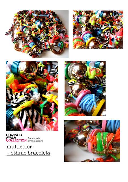 MULTICOLORE ETHNIC BRACELETS Domingo Ayala Handmade
