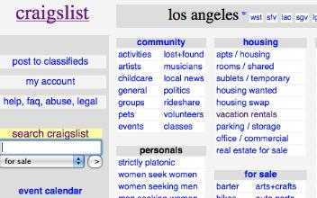 Angeles craigslist los sex