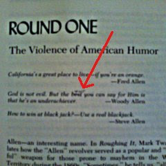 The Violence Of American Humor