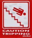I am a tripping hazard