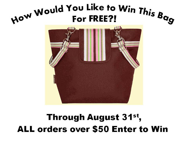 All orders over $50 enter to win!