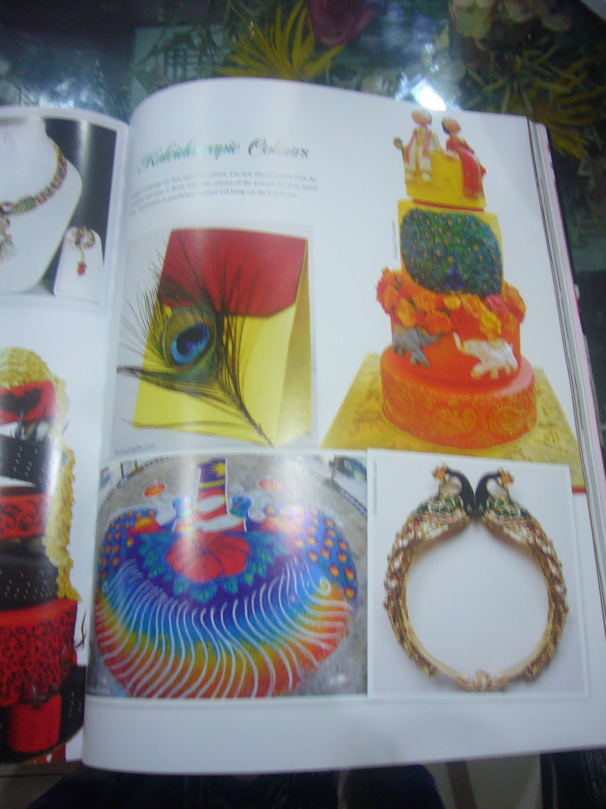 SIMPLY DELICIOUS CAKES Shaadi Magazine Vol 9