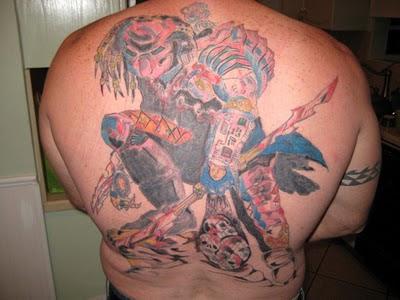 10 Wonderful Predator Tattoos