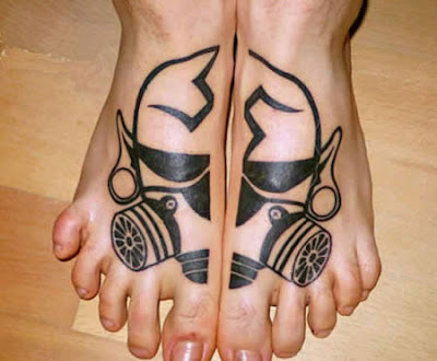 Beautiful Tattoos for Foot - Foot Tattoo Designs