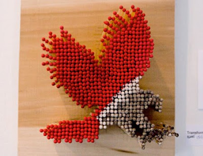 Awesome Art Created Using Matches Seen On www.coolpicturegallery.us