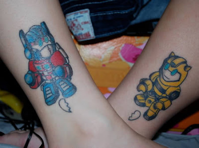 Craziest Matching Tattoo Seen On www.coolpicturegallery.us
