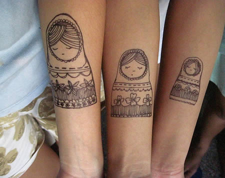 Matching Tattoos on 12 Craziest Matching Tattoos   Cool Pictures