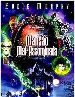 Filme Poster Mansão Mal Assombrada DVDRip Dublado