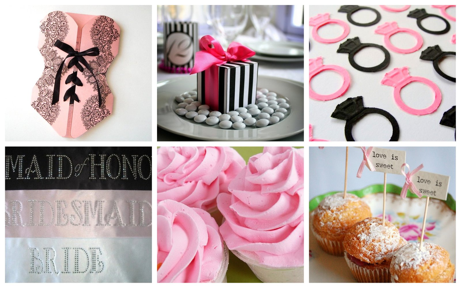 Louloubell handmade blog decorating for a pink proper for Bachelorette party decoration ideas