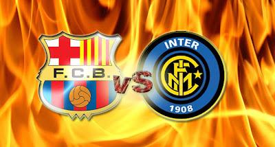 FC Barcelona versus Inter Milan