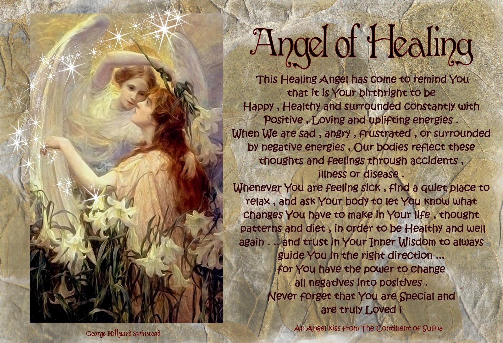 Angel of healing raphael