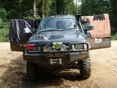 WWF Jeep